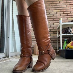 Vintage FRYE Melissa Boots With Harness